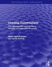 Learning Conversations (Psychology Revivals)