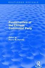 FUNDAMENTALS OF THE CHINESE COMMUNI