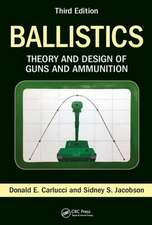 BALLISTICS THEORY AND DESIGN AND A