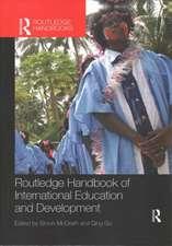 Routledge Handbook of International Education and Development