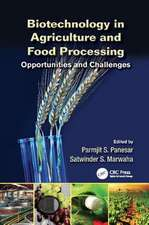 Biotechnology in Agriculture and Food Processing