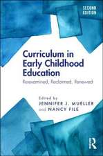 CURRICULUM IN EARLY CHILDHOOD EDUCA