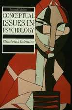 Conceptual Issues in Psychology