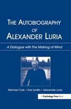 Autobiography of Alexander Luria