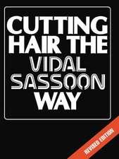 Cutting Hair the Vidal Sassoon Way