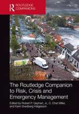 RC TO RISK AND CRISIS MANAGEMENT G