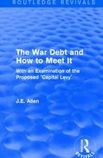 : The War Debt and How to Meet It (1919)