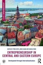 Entrepreneurship in Central and Eastern Europe