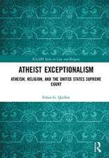 Atheist Exceptionalism