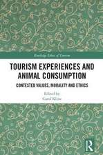 Tourism Experiences and Animal Consumption