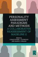 Personality Assessment Paradigms and Methods