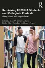Rethinking LGBTQIA Students and Collegiate Contexts
