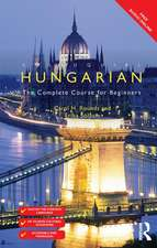 COLLOQUIAL HUNGARIAN WITH FREE MP3S