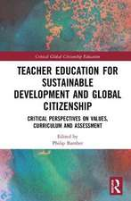 Teacher Education for Sustainable Development and Global Citizenship