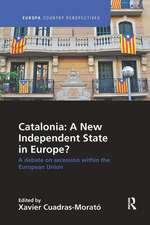 Catalonia: A New Independent State in Europe?