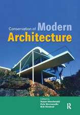 Conservation of Modern Architecture