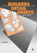 Builders' Detail Sheets