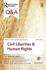 Q&A Civil Liberties & Human Rights 2013-2014