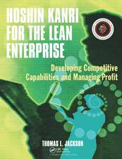 Hoshin Kanri for the Lean Enterprise