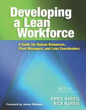 DEVELOPING A LEAN WORKFORCE A GUIDE