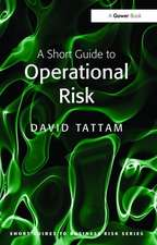 Short Guide to Operational Risk