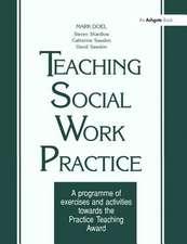 TEACHING SOCIAL WORK PRACTICE