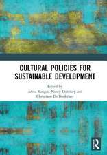Cultural Policies for Sustainable Development