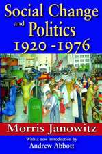 Social Change and Politics