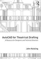 AutoCAD for Theatrical Drafting