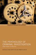 Psychology of Criminal Investigation