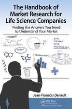 The Handbook for Market Research for Life Sciences Companies