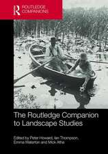 Routledge Companion to Landscape Studies