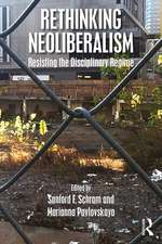 Rethinking Neoliberalism in Social Policy