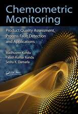 Kundu, M: Chemometric Monitoring