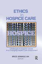 Ethics in Hospice Care