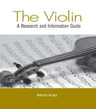 Katz, M: The Violin