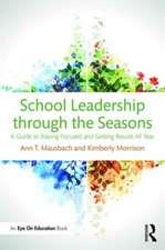 School Leadership Through the Seasons