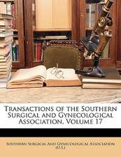 TRANSACTIONS OF THE SOUTHERN SURGICAL AN