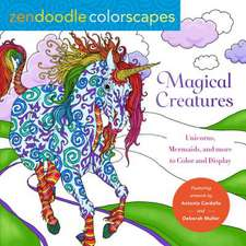 Zendoodle Colorscapes: Magical Creatures: Unicorns, Mermaids, and More to Color and Display