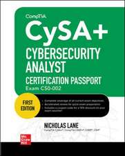 CompTIA CySA+ Cybersecurity Analyst Certification Passport (Exam CS0-002)