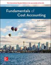 ISE Fundamentals of Cost Accounting