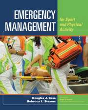 Emergency Management for Sport and Physical Activity