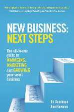 New Business: Next Steps