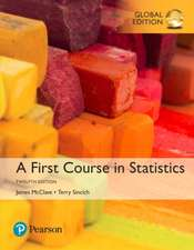 First Course in Statistics