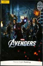 LEVEL 2 MARVEL THE AVENGERS BOOK MP3 PAC