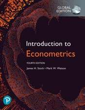 Introduction to Econometrics plus Pearson MyLab Economics with Pearson eText, Global Edition