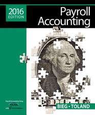 Payroll Accounting 2016 (with Cengagenow V2, 1 Term Printed Access Card)