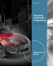 Essentials of MATLAB (R) Programming, International Edition