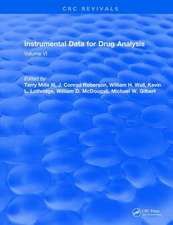 Instrumental Data for Drug Analysis, Second Edition
