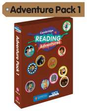 Cambridge Reading Adventures Pink A and Pink B Bands Adventure Pack 1 with Parents Guide